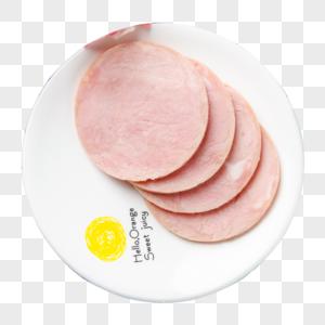 三明治火腿片图片