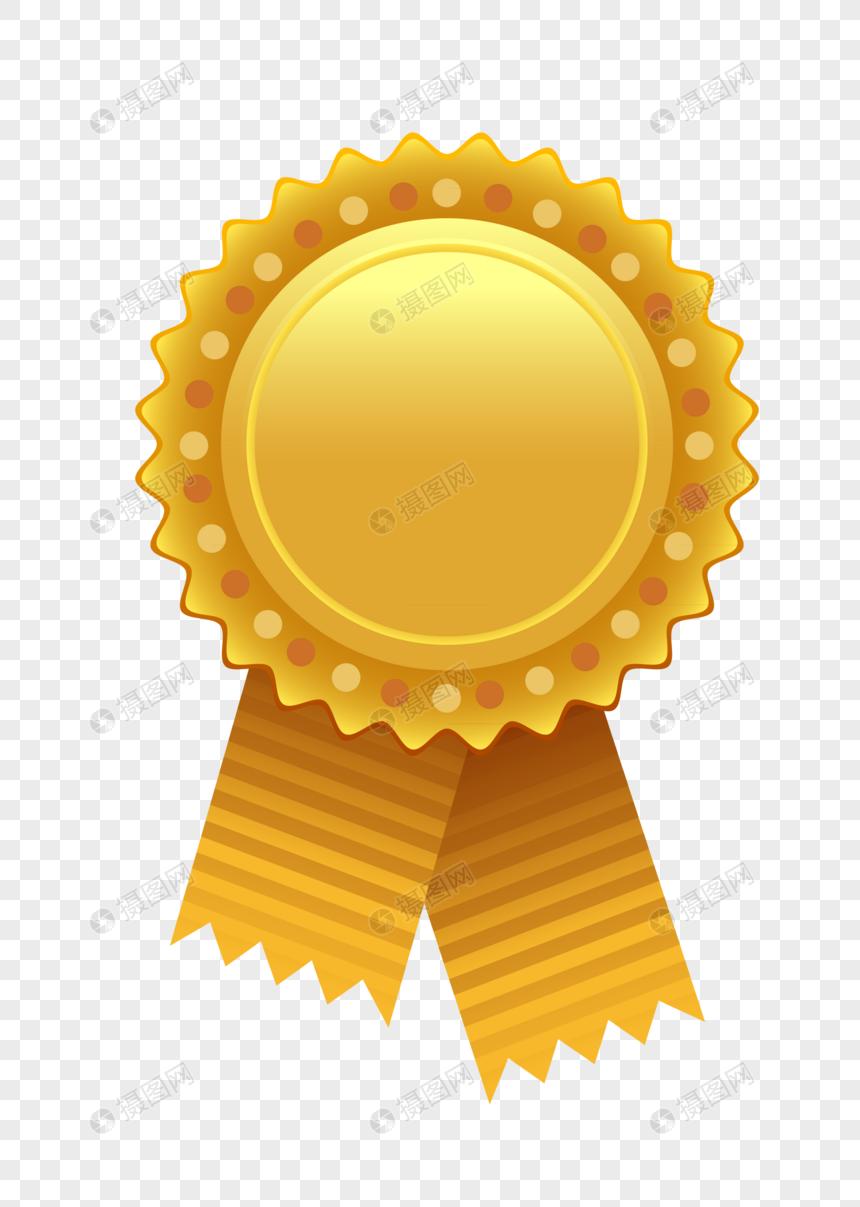 金色奖牌图片