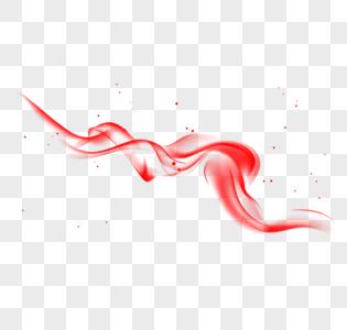 红色烟雾图片