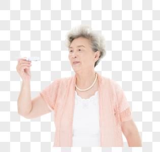 老年奶奶飞行旅游图片