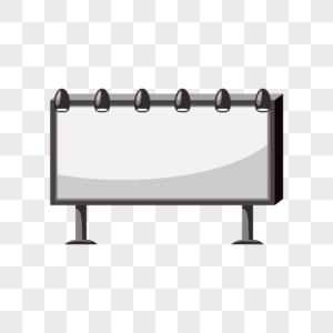 黑白屏幕促销空白广告标签图片