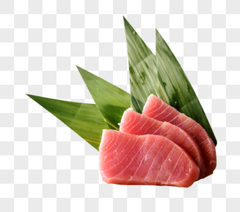 日本料理之红金枪鱼刺身图片