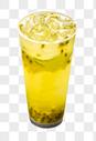 柠檬百香果汁图片