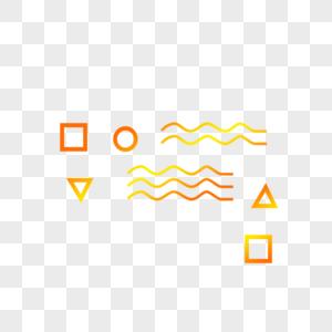 小方块,波浪线,图片