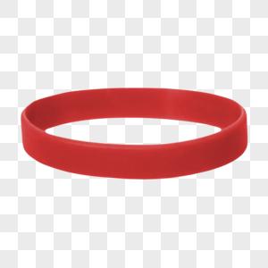 红色手环图片