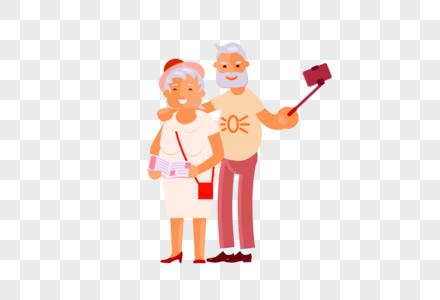 重阳节老人生活图片