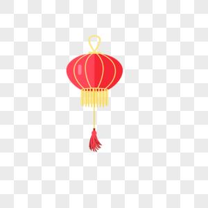 中国风大红灯笼图片