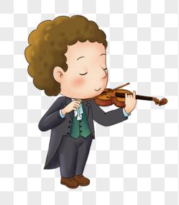 拉小提琴演出表演图片