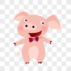 新年卡通猪形象图片