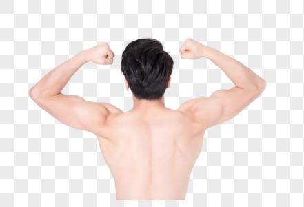 运动健身男性人像身材肌肉展示图片