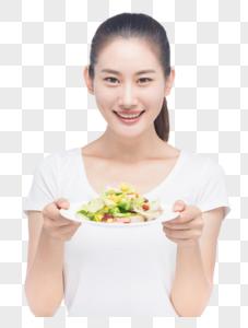 美女减肥健康饮食图片