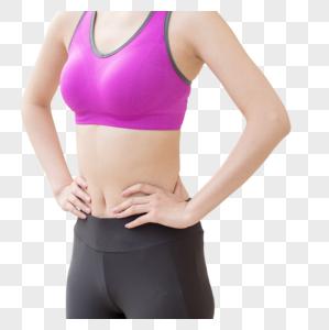 户外运动健身女性身材展示图片