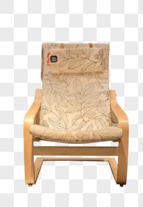 清新文艺家具叶子纹理沙发图片