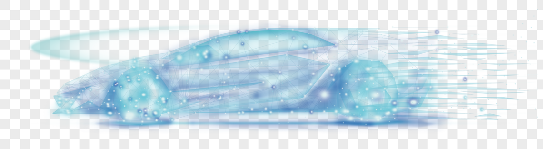 汽车几何线条图片