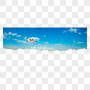 蓝蓝的天空图片