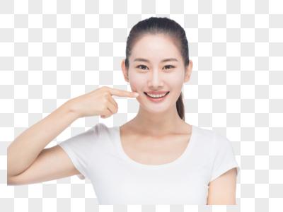 健康年轻女性图片