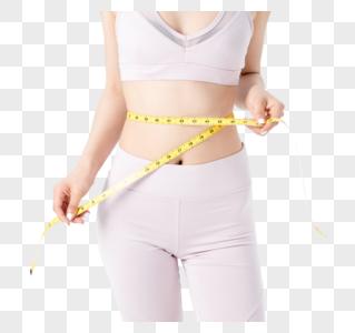 运动健身美女量尺码图片