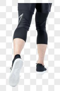 运动男性人像奔跑腿部姿势图片