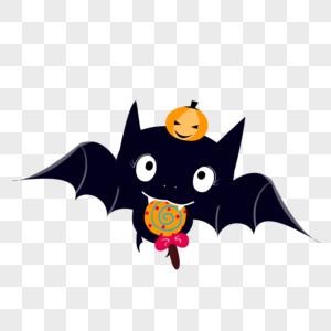 万圣节蝙蝠装饰图片