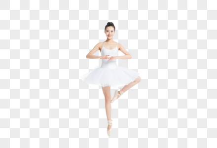 芭蕾舞动作女孩图片