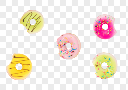 甜品甜甜圈图片