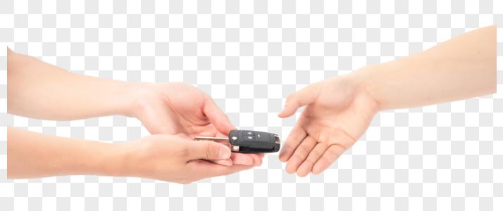 新车成 交递钥匙图片