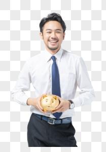 商务男士理财图片