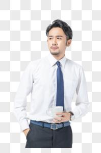 商务男性形象图片