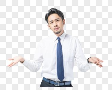商务男性无奈图片