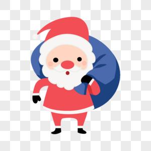 圣诞老人卡通形像图片