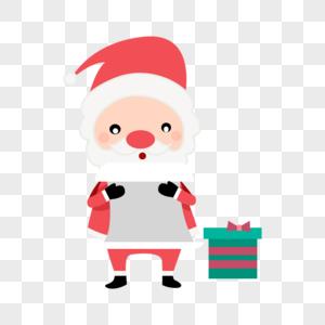 圣诞老人卡通形象图片