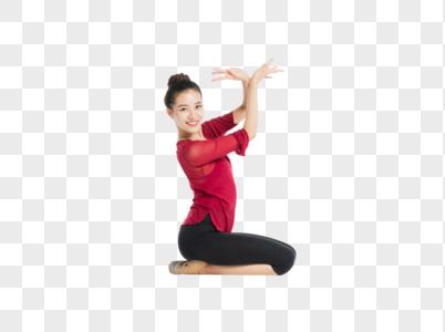 跳舞的女生图片
