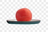 一颗番茄图片