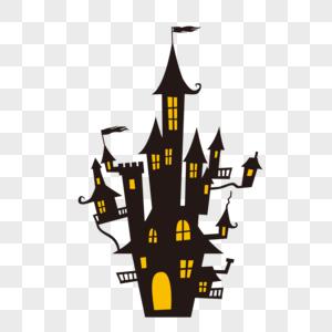 万圣节城堡图片