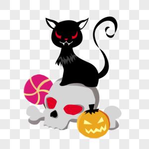 万圣节猫咪图片