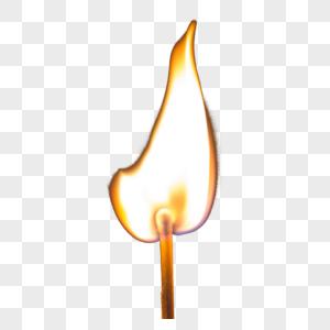 热烈燃烧的火苗图片