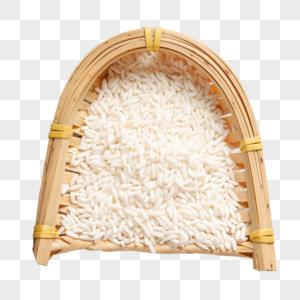 有机稻米图片
