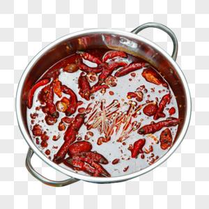 红油锅底图片