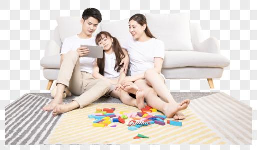幸福家庭生活亲子图片