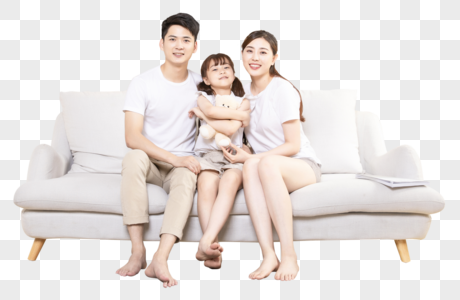 幸福家庭图片