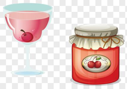 樱桃果酱图片