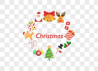 圣诞节花圈图片