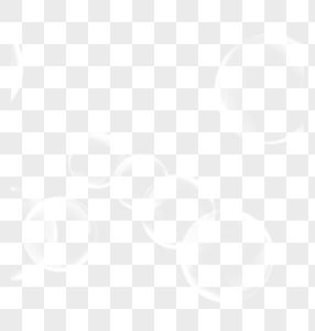 白色圆形光效图片