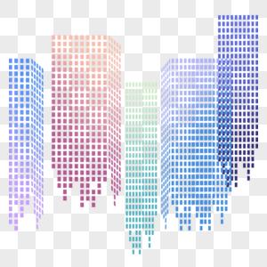 粒子城市图片