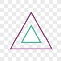 三角形边框图片