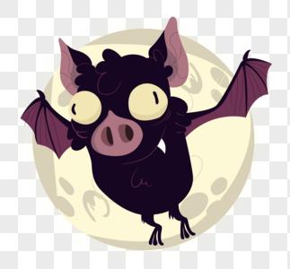 万圣节的蝙蝠图片