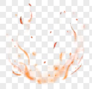 火焰火花效果元素图片