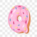 甜甜圈英文字母Q图片