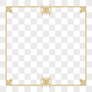 中式花纹边框图片