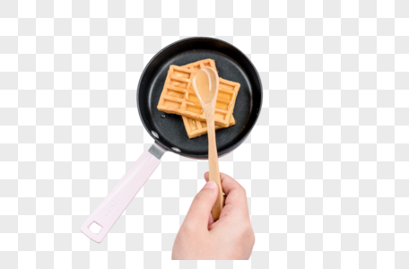 华夫饼图片